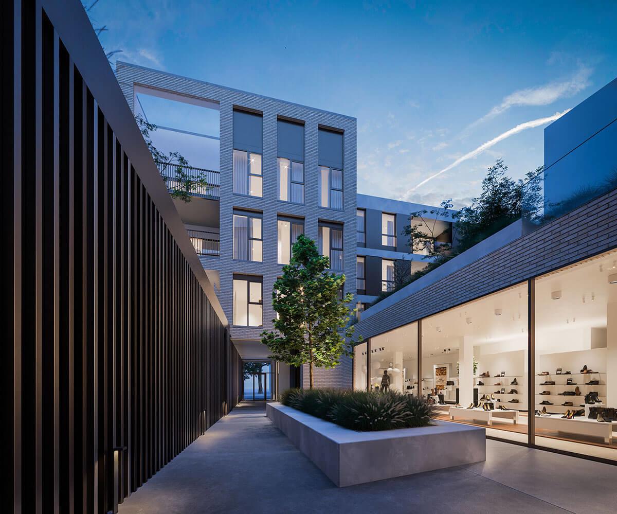 Doudevesting-eigentijdse-architectuur